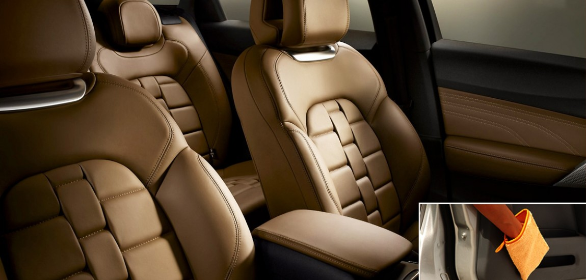 Use fibre damp to clean car leather seats and leather furniture.